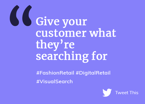 Give your customer what they're searching for with Visual Search Navigation